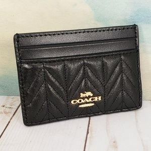 COACH Card Case Quilted